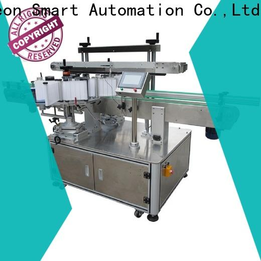 PST top double side labeling machine supplier for square bottle