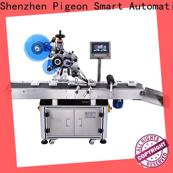 PST professional automatic flat labeling machine supply for bags