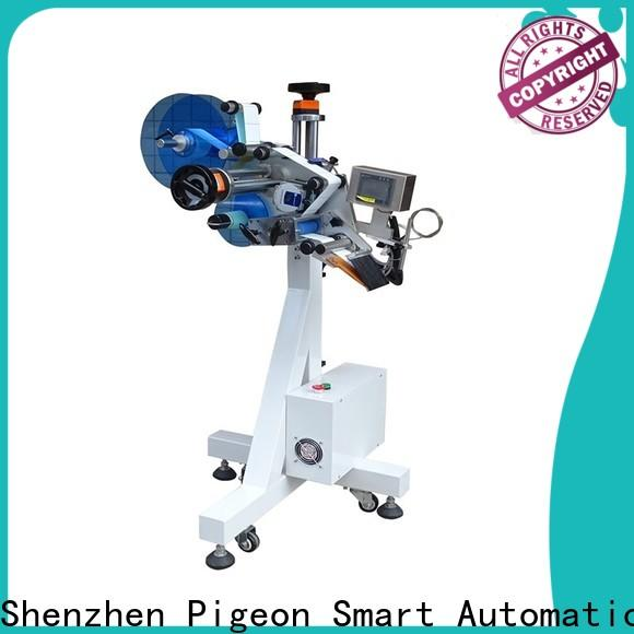 PST high quality automatic plane labeling machine supplier for bags