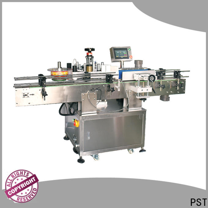 PST auto label machine shrink labeling equipment for square bottles
