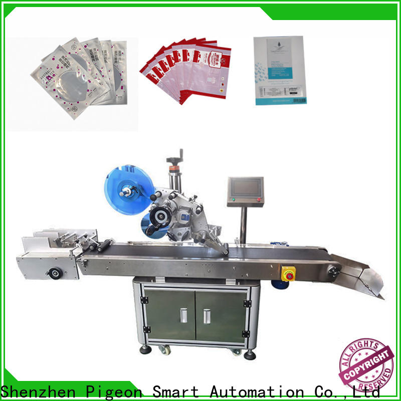 PST flat labeling machine supply for square bottles