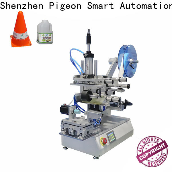 PST latest plance labeling machine factory for cards