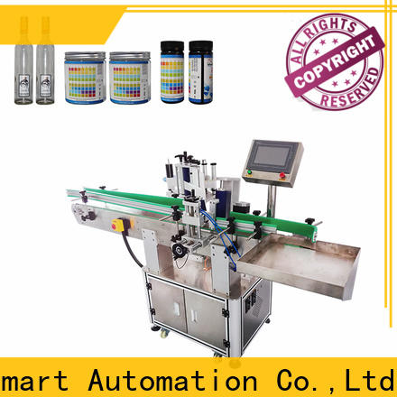 PST double sizes automatic label applicator factory for round bottles