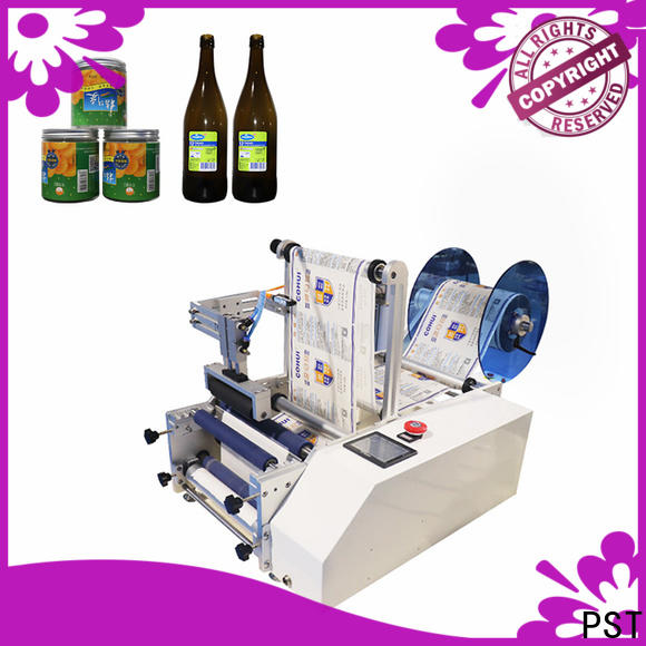 high quality semi automatic round bottle labeling machine company for sale