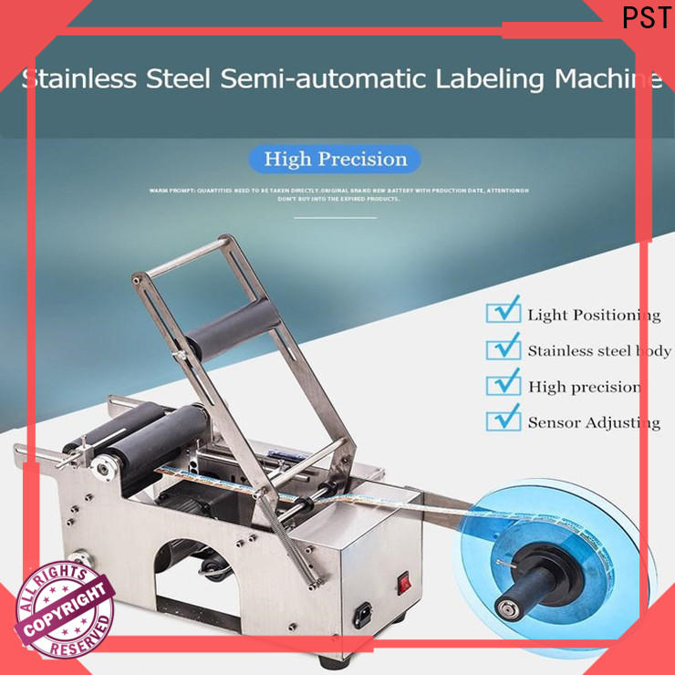 PST automatic label applicator factory for square bottles