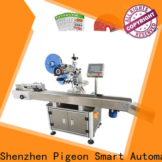 high speed semi automatic labeling machine supply for flat bottles