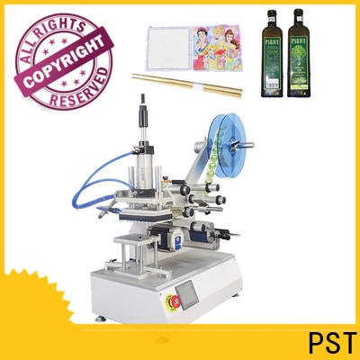 PST best semi auto labeling machine supply for bottle