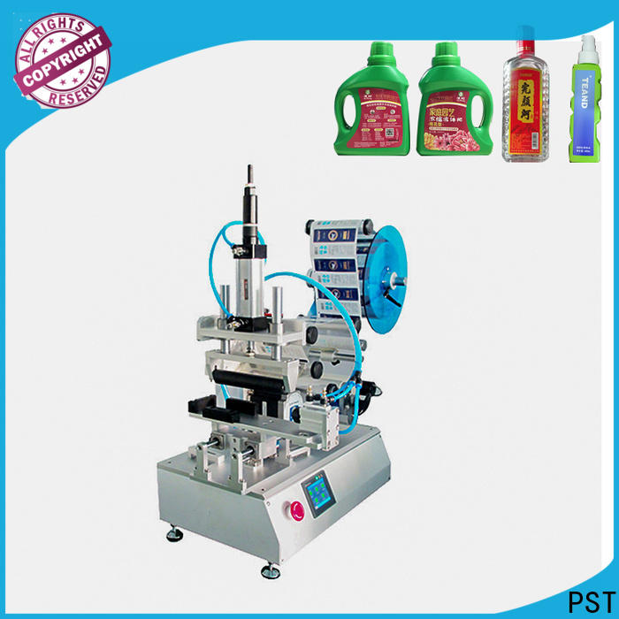 PST semi automatic labeling machine with custom services for factory