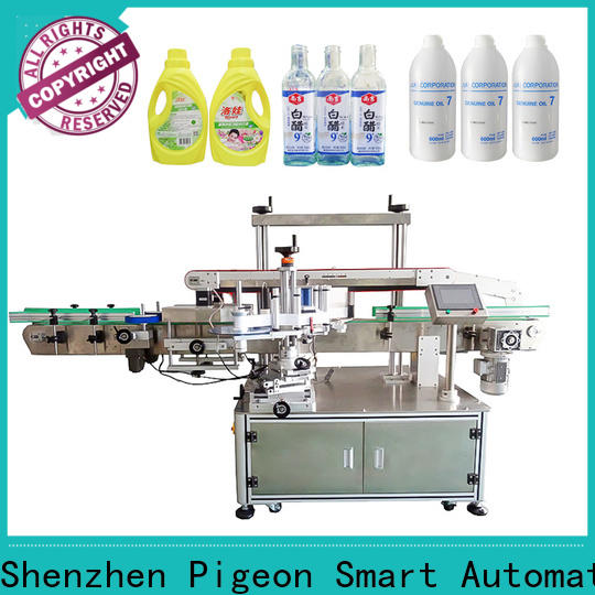 PST automatic label applicator machine with label sensor for cards