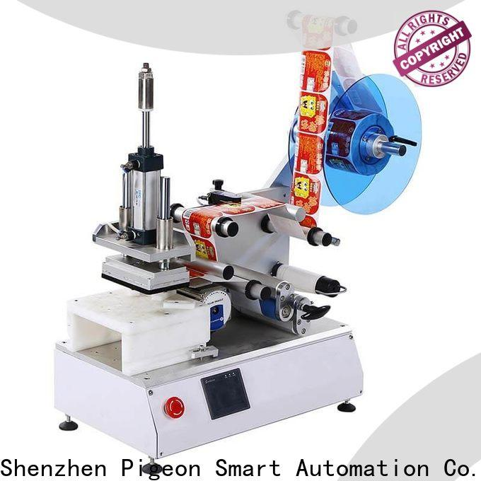 PST semi automatic flat labeling machine factory price for box corner