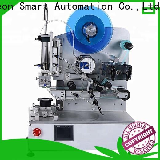PST superior quality flat labeling machine with custom service for square bottles
