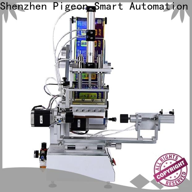 best semi automatic flat labeling machine factory for round bottles