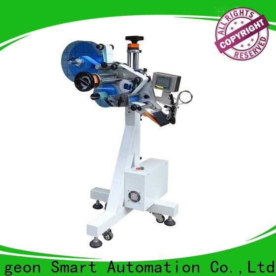 PST fully automatic automatic flat labeling machine supplier for box