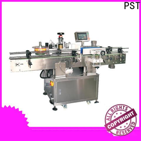PST bottles labeling machine manufacturer for flat bottles