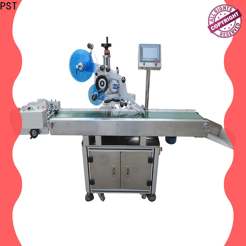 PST flat labeling machine for busniess for square bottles