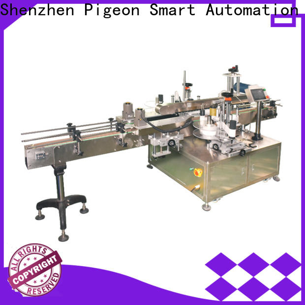 high speed double side sticker labeling machine for busniess for square bottles