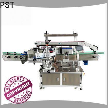 high speed double side sticker labeling machine company for bucket