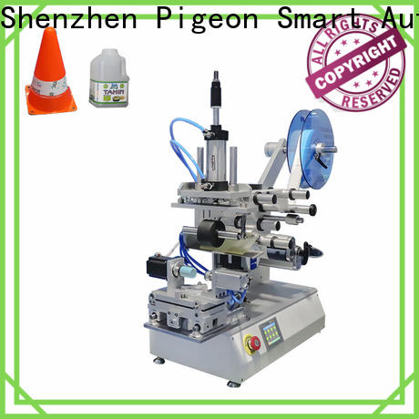 PST flat labeling machine supply for flat bottles