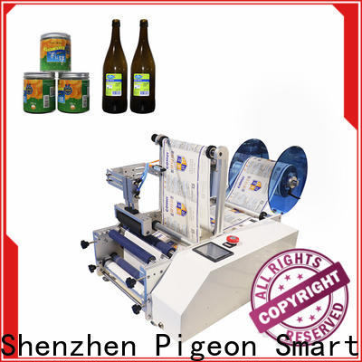 PST shrink semi automatic bottle labeling machine supply for round bottles