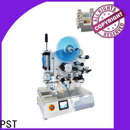 PST semi auto labeling machine factory for industry