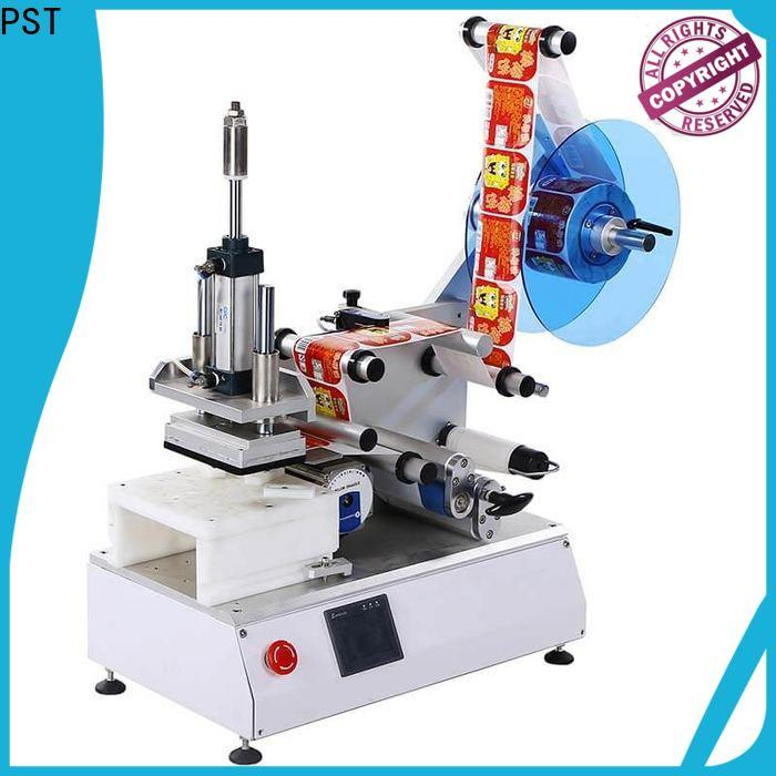 PST flat labeling machine factory price for round bottles