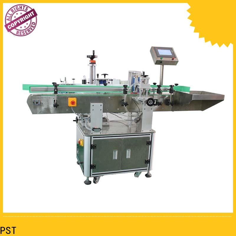 PST automatic bottle label applicator factory for wine bottle