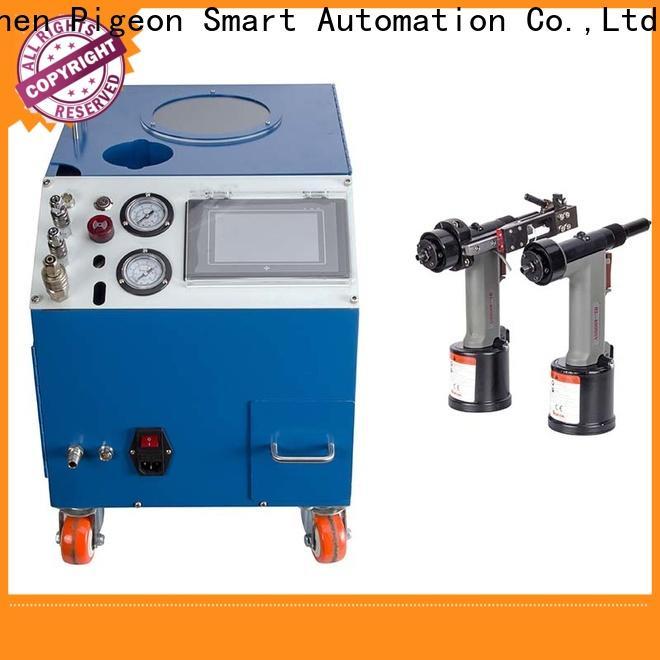 PST silver color automatic pop rivet machine for busniess for flight case