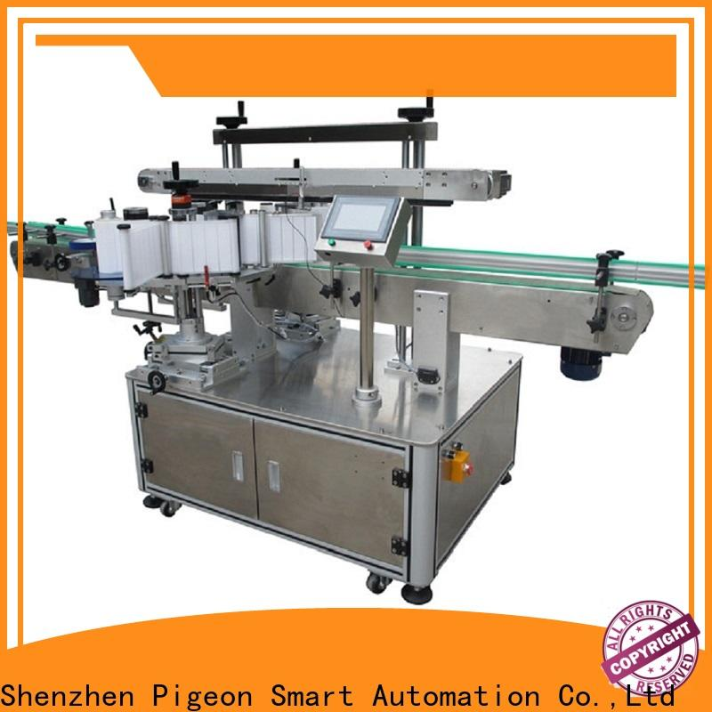 high quality side label applicator company for round bottle