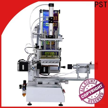 superior quality semi automatic flat labeling machine with custom service for square bottles