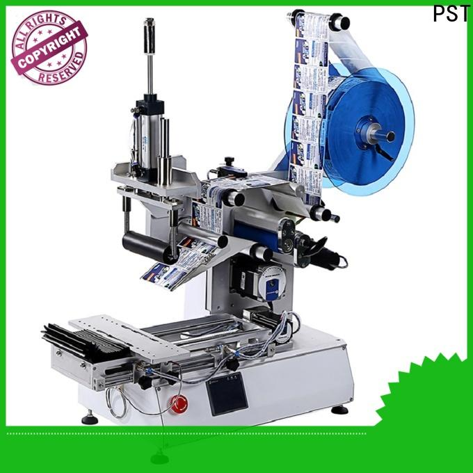 PST automatic label applicator company for boxes