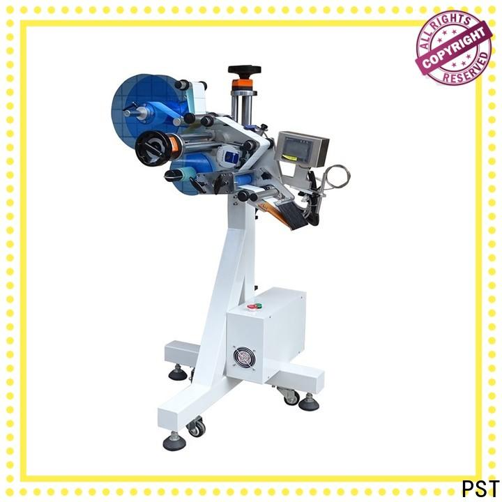 PST custom automatic flat labeling machine for busniess for bags