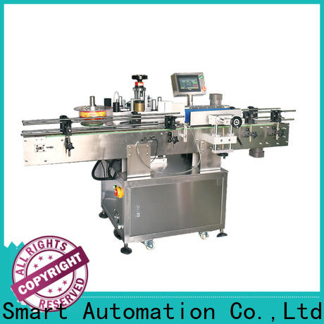 PST around bottles labeling machine company for cards