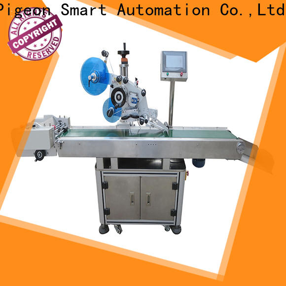 PST custom flat labeling machine company for boxes