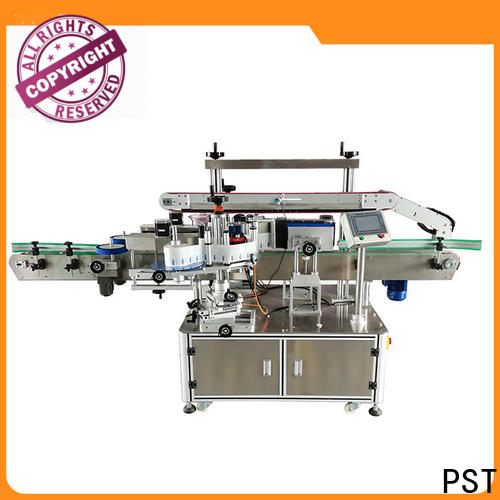 fully double side sticker labeling machine for busniess for flat bottles