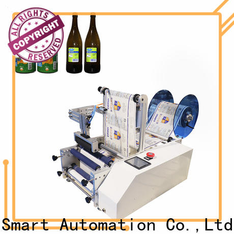 shrink semi automatic round bottle labeling machine supplier for sale