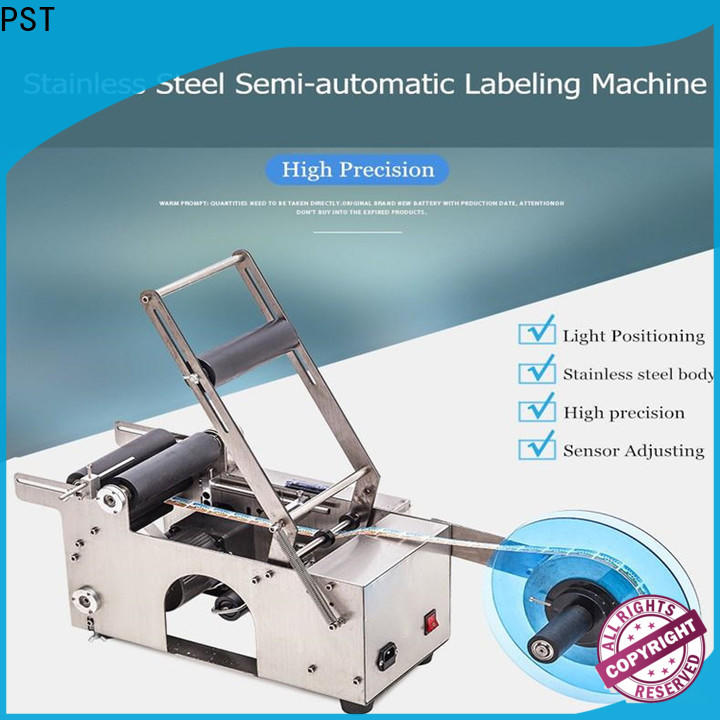 latest labeling equipment with label sensor for boxes