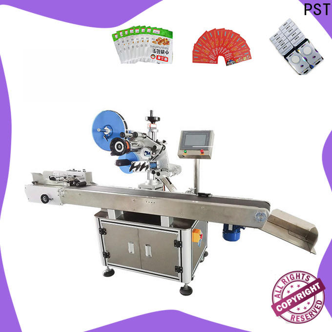 PST label machine customization for square bottles