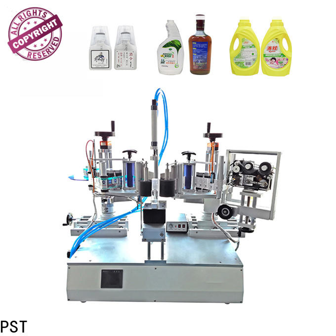 PST wholesale semi automatic labeling machine with custom services for factory