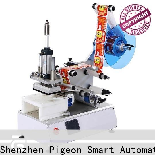 PST high speed semi automatic flat labeling machine factory for sale