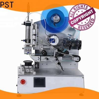 PST professional semi automatic flat labeling machine fast delivery for box corner