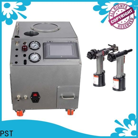 PST new auto riveting machine supplier for kitchen hood