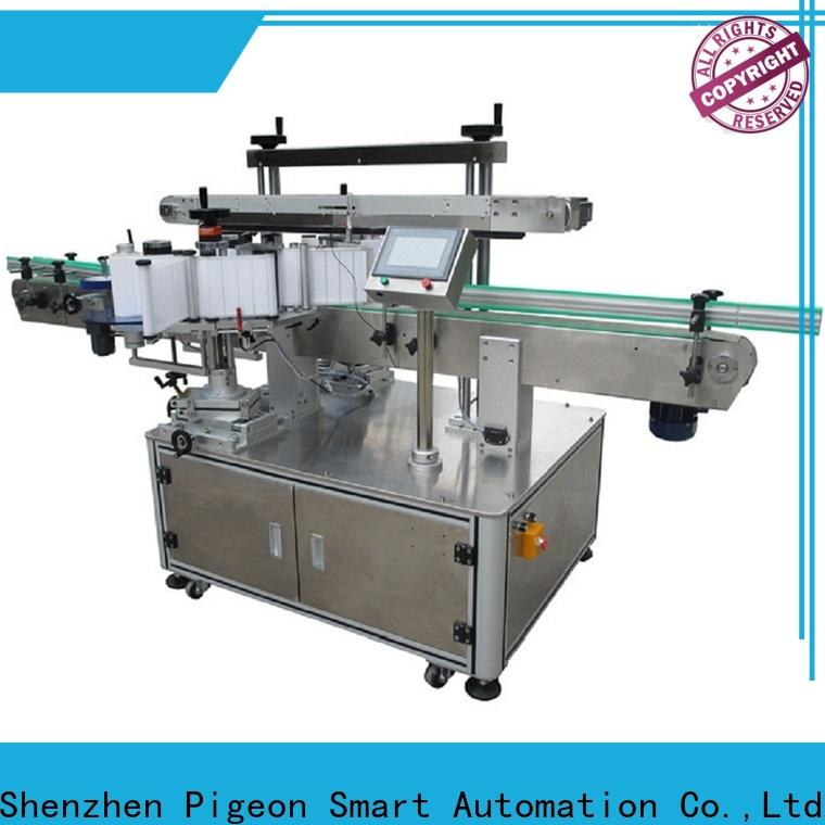custom double side labeling machine supply for packing