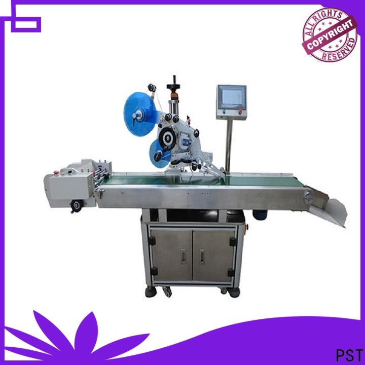PST latest automatic plane labeling machine for busniess for box