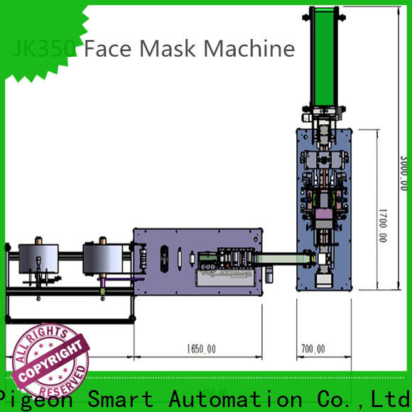 PST flat disposal face mask machine manufacturers for medical usage