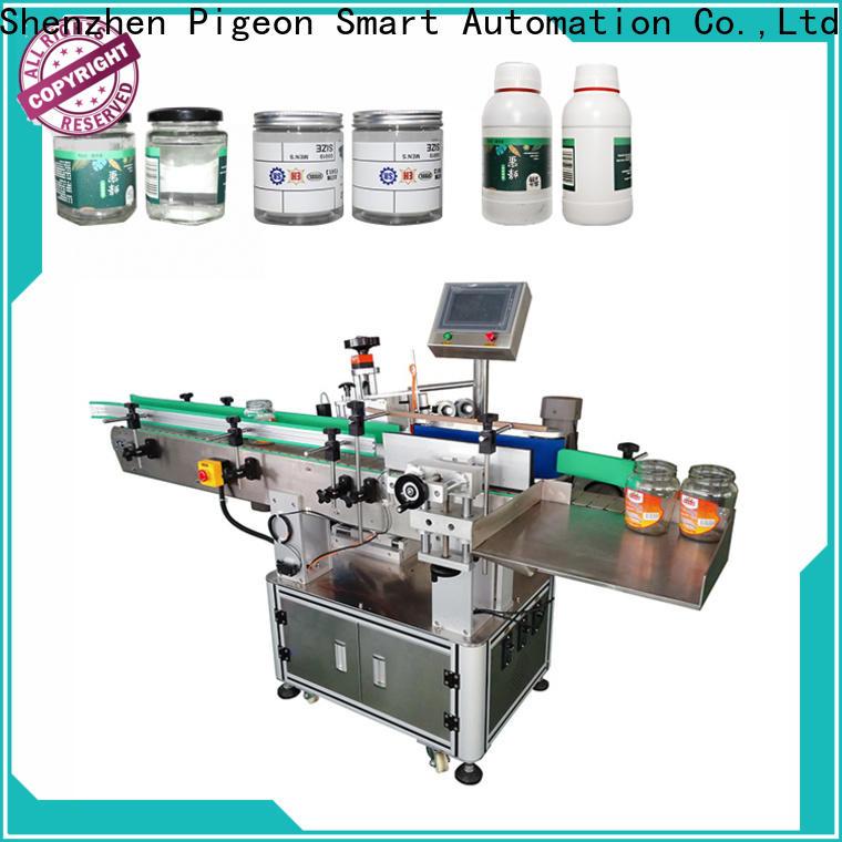 PST sticker labelling machine supply for round bottles