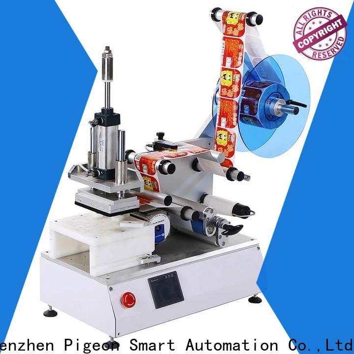 hot sale semi automatic flat labeling machine supplier for sale