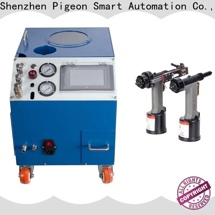 PST high speed electric riveting machine error prevention for computer terminal case