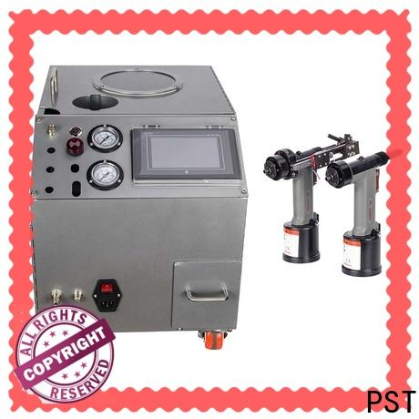 PST auto riveting machine with pneumatic rivet guns for blind rivets