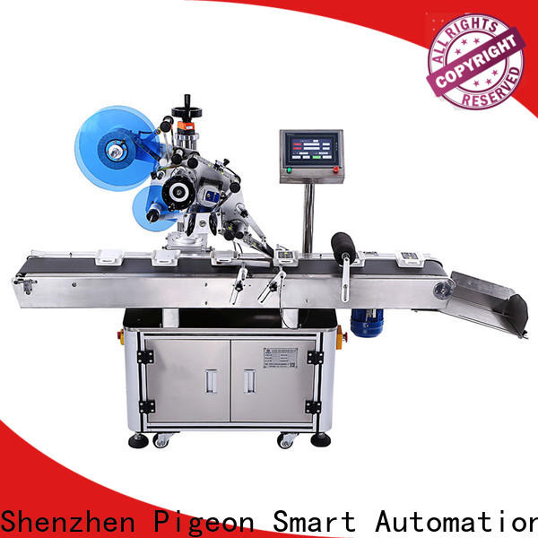 PST top automatic flat labeling machine supplier for bags