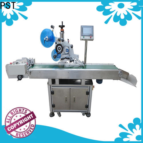 PST plance labeling machine company for flat bottles